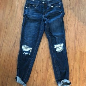 American Eagle Tom-girl jeans